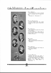 Page 15, 1925 Edition, Marion High School - Warrior Yearbook (Marion, KS) online yearbook collection