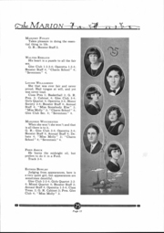 Page 16, 1925 Edition, Marion High School - Warrior Yearbook (Marion, KS) online yearbook collection