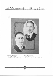 Page 6, 1925 Edition, Marion High School - Warrior Yearbook (Marion, KS) online yearbook collection