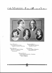 Page 7, 1925 Edition, Marion High School - Warrior Yearbook (Marion, KS) online yearbook collection