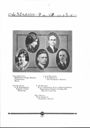 Page 8, 1925 Edition, Marion High School - Warrior Yearbook (Marion, KS) online yearbook collection