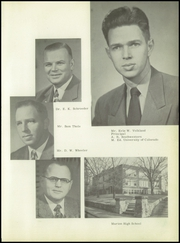 Page 9, 1953 Edition, Marion High School - Warrior Yearbook (Marion, KS) online yearbook collection