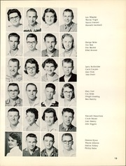 Page 17, 1959 Edition, Marion High School - Warrior Yearbook (Marion, KS) online yearbook collection