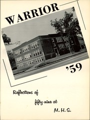 Page 5, 1959 Edition, Marion High School - Warrior Yearbook (Marion, KS) online yearbook collection