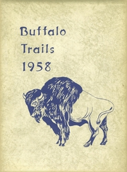 1958 Edition, Meade High School - Buffalo Trails Yearbook (Meade, KS)