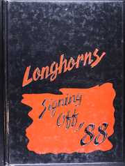 1988 Edition, Holcomb High School - Longhorns Yearbook (Holcomb, KS)