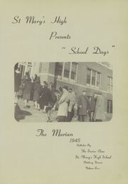 Page 7, 1945 Edition, St Marys High School - Marian Yearbook (Pittsburg, KS) online yearbook collection