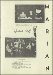 Page 11, 1947 Edition, St Marys High School - Marian Yearbook (Pittsburg, KS) online yearbook collection