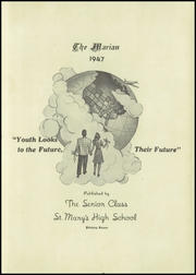 Page 7, 1947 Edition, St Marys High School - Marian Yearbook (Pittsburg, KS) online yearbook collection