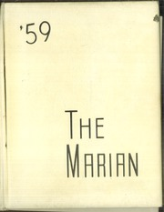 1959 Edition, St Marys High School - Marian Yearbook (Pittsburg, KS)