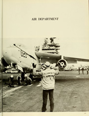Page 121, 1967 Edition, America (CVA 66) - Naval Cruise Book online yearbook collection