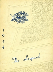 1954 Edition, Lincoln High School - Leopard Yearbook (Lincoln, KS)