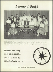 Page 8, 1957 Edition, Lincoln High School - Leopard Yearbook (Lincoln, KS) online yearbook collection