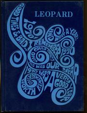 1970 Edition, Lincoln High School - Leopard Yearbook (Lincoln, KS)