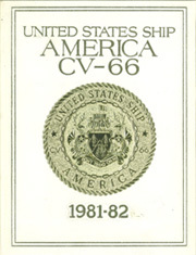 1982 Edition, America (CV 66) - Naval Cruise Book