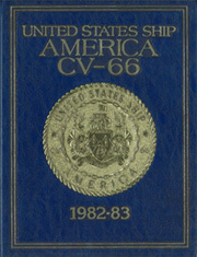 1983 Edition, America (CV 66) - Naval Cruise Book