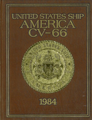 1984 Edition, America (CV 66) - Naval Cruise Book