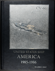 1986 Edition, America (CV 66) - Naval Cruise Book