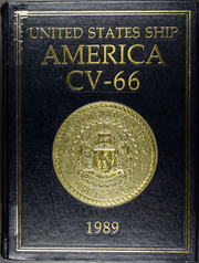 1989 Edition, America (CV 66) - Naval Cruise Book