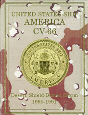 Page 1, 1991 Edition, America (CV 66) - Naval Cruise Book online yearbook collection