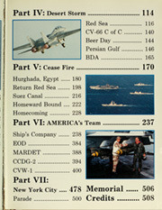 Page 7, 1991 Edition, America (CV 66) - Naval Cruise Book online yearbook collection