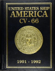1992 Edition, America (CV 66) - Naval Cruise Book
