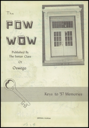 Page 7, 1957 Edition, Oswego High School - Pow Wow Yearbook (Oswego, KS) online yearbook collection