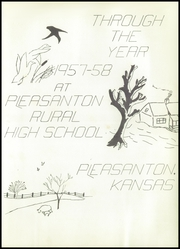 Page 7, 1958 Edition, Pleasanton High School - Hilltop Yearbook (Pleasanton, KS) online yearbook collection