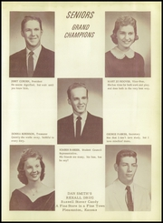 Page 13, 1959 Edition, Pleasanton High School - Hilltop Yearbook (Pleasanton, KS) online yearbook collection