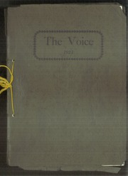 1923 Edition, La Crosse High School - Voice Yearbook (La Crosse, KS)