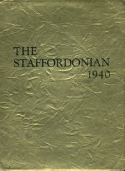 1940 Edition, Stafford High School - Staffordonian Yearbook (Stafford, KS)