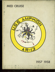 1958 Edition, Amphion (AR 13) - Naval Cruise Book