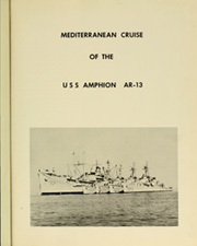 Page 5, 1958 Edition, Amphion (AR 13) - Naval Cruise Book online yearbook collection