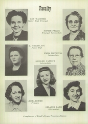 Page 12, 1951 Edition, Frontenac High School - Raider Yearbook (Frontenac, KS) online yearbook collection
