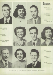 Page 14, 1951 Edition, Frontenac High School - Raider Yearbook (Frontenac, KS) online yearbook collection