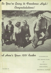 Page 5, 1951 Edition, Frontenac High School - Raider Yearbook (Frontenac, KS) online yearbook collection