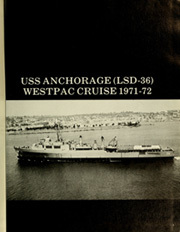 Page 5, 1972 Edition, Anchorage (LSD 36) - Naval Cruise Book online yearbook collection