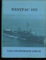 Anchorage (LSD 36) - Naval Cruise Book online yearbook collection, 1975 Edition, Page 1