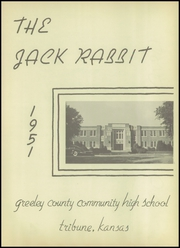 Page 5, 1951 Edition, Greeley County High School - Jack Rabbit Yearbook (Tribune, KS) online yearbook collection