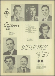 Page 9, 1951 Edition, Greeley County High School - Jack Rabbit Yearbook (Tribune, KS) online yearbook collection