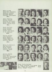 Page 15, 1944 Edition, Caldwell High School - Blue Jay Yearbook (Caldwell, KS) online yearbook collection