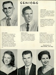 Page 14, 1958 Edition, Caldwell High School - Blue Jay Yearbook (Caldwell, KS) online yearbook collection