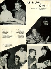 Page 6, 1958 Edition, Caldwell High School - Blue Jay Yearbook (Caldwell, KS) online yearbook collection