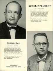 Page 8, 1958 Edition, Caldwell High School - Blue Jay Yearbook (Caldwell, KS) online yearbook collection