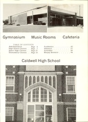 Page 7, 1969 Edition, Caldwell High School - Blue Jay Yearbook (Caldwell, KS) online yearbook collection
