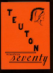 1970 Edition, Inman High School - Teuton Yearbook (Inman, KS)