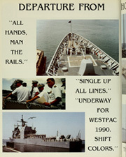 Page 10, 1990 Edition, Antietam (CG 54) - Naval Cruise Book online yearbook collection