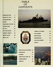 Page 5, 1990 Edition, Antietam (CG 54) - Naval Cruise Book online yearbook collection