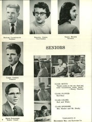 Page 12, 1957 Edition, Moundridge High School - Wildcat Yearbook (Moundridge, KS) online yearbook collection