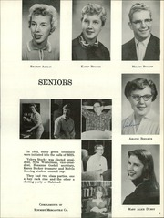 Page 13, 1957 Edition, Moundridge High School - Wildcat Yearbook (Moundridge, KS) online yearbook collection